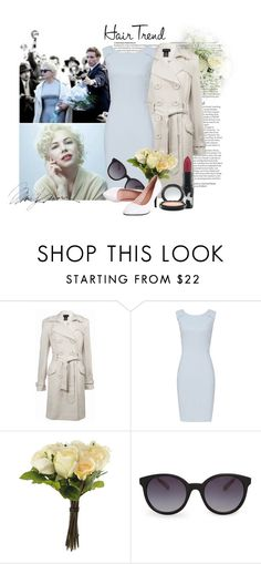"""My Week with Marilyn"" by katherineelisa ❤ liked on Polyvore featuring ASOS, Sutton Studio, Reiss, OKA, MANGO and ShortHair"
