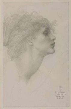 Desiderium by Edward-Burne Jones