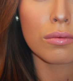 Kissable Complexions: Oh My Blush... Boho Chic NYX rouge cream blush as a gloss.