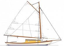Woodenboat plans////Garvey 33 Sail Plan