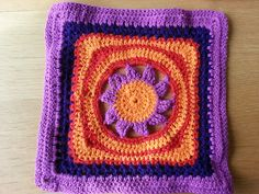 """Ravelry: CRAEW's Blooming Lace - 12"""" Square"""