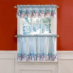 53 Best Christmas Curtains Images In 2018 Curtains