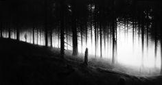 Robert Longo-Et in Arcadia Ego-2009- charcoal