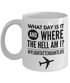 Flight Attendant Gifts - Flight Attendant Life - Funny Mu...