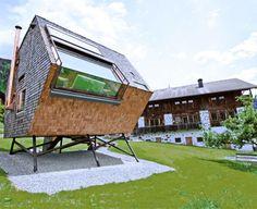 UFOgel tiny modern cabin 1