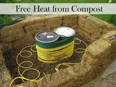 What If Your Residential Heating System Ran On Compost?  What if you could heat your house all winter for free, heat your household water for free, and cook with free gas most of the year?  Sound to good to be true?  Well, it's not!  And you can get almost everything you need to complete this project for free or next to nothing.  Build your own residential heat5ing system in just a few days.