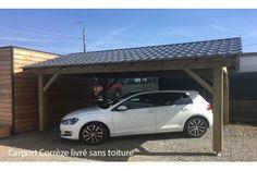 Carport 1 voiture CORREZE 16 - 21.16 m² non couvert
