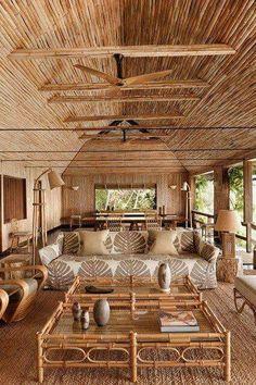 Y si hay algo que no podemos dudar es el toque de frescura que proporciona el bambú.