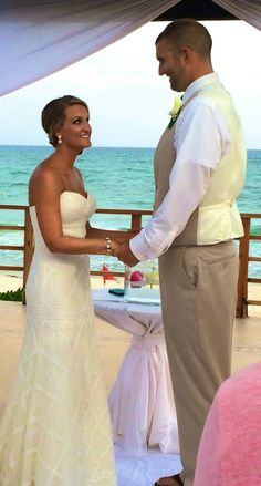 Allure vest and matching pant destination wedding Destination Wedding, Vest, Wedding Dresses, Fashion, Bride Dresses, Moda, Bridal Gowns, Fashion Styles