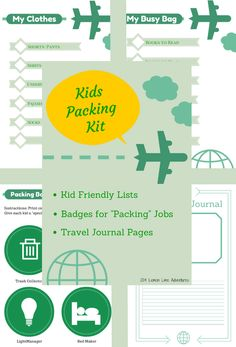 Travel Kit with Free Packing Lists from Lemon Lime Adventures