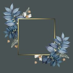 Empty floral frame design vector free image by wan Flower Backgrounds, Wallpaper Backgrounds, Colorful Backgrounds, Iphone Wallpaper, Wallpapers, Wallpaper Ideas, Cadre Design, Tableau Design, Frame Floral