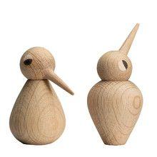 Kristian Vedel Bird Sculpture Small by ArchitectMade Marimekko, Wooden Bird, Wooden Animals, Bird Sculpture, Small Birds, Designer Toys, Wood Toys, Wood Turning, Pen Turning