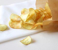 Salty Sinner: Deze week geen zoete, maar zoute sinner! Home made chips met zeezout. #chips #sinnersunday