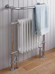 vintage towel rail and heater