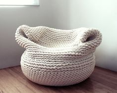 Amaya Gutierrez' Beautiful Knit Bdoja Chair is Handmade in Los Angeles