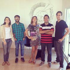 Marianita, Gaspar & chicos de la escuelita de verano 1