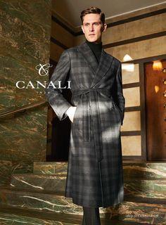 Male Fashion Trends: Canali 1934 presenta una refinada elegancia para su campaña de invierno