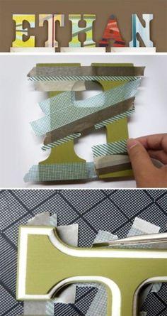 20 Cool Washi Tape Decor Ideas For Kids Rooms | Kidsomania