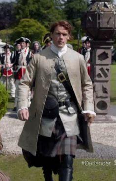 Outlander Season 2 teaser, Sam Heughan, Jamie Fraser