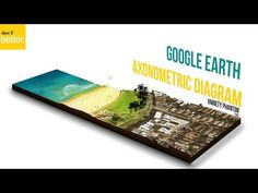 Google Earth Architecture Illustration  -Architectural Presentation-    Photoshop Only - YouTube
