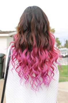 pink ombre | Tumblr
