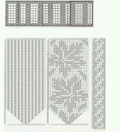Fingerless Mittens, Knit Mittens, Mitten Gloves, Knitting Socks, Crochet Cross, Thread Crochet, Knit Crochet, Crochet Mittens Free Pattern, Crochet Chart
