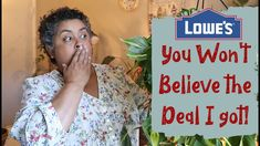 Lowes Shop With Me | Lowes is restocked | I found an incredible deal!🌱😁 Balcony Garden, Container Gardening, Lowes, House Plants, The Incredibles, Holidays, Videos, Youtube, Shopping