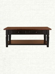 "Toulon 48"" Rectangle Coffee Table Sale $899"