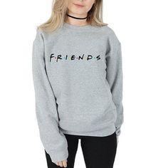 Friend F*ck Long Sleeve T-shirt Sitcom Golden Tee Joy Ross Central Perks Top