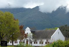 Franschhoek, South Africa.  It was a cloudy morning but a beautiful afternoon in the heart of the winelands