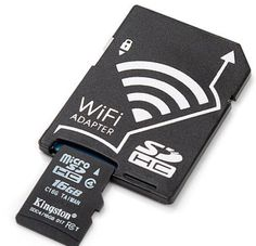Wifi Microsd Adapter Turn Your Humble Microsd Card Into A - The Wifi Microsd Adapter Converts A Standard Microsd Card Into A Wireless Data Monster Which You Can Use In Your Digital Camera Or Other Reader To Move Photos Videos And Other Files To Your Phone Computer Companies, Computer Deals, Gaming Computer, Cheap Computers, Desktop Computers, Bad Room Ideas, Computer Engineering, Computer Projects, Arduino Projects