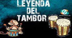 La leyenda del tambor, leyenda africana que nos relata cómo surgio el intrumento del tambor. Leyendas cortas para niños en Educapeques