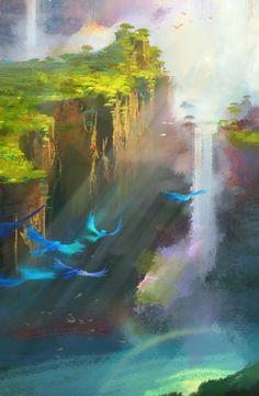 Nathan Fowkes Art: Rio 2 Panorama