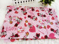50*115cm Minnie Mouse Daisy Duck Cotton Fabric for Sewing Patchwork Bedding Fabric DIY Baby Cloth Textiles 14121609