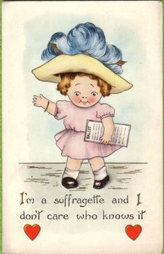 14 Wonderfully Sassy Vintage Valentines From Suffragists Women Right To Vote, Suffrage Movement, Vintage Valentines, Women In History, American Women, Vintage Cards, Small Groups, Strong Women, Sassy