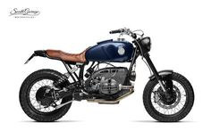 """""""Hurricane"""" by South Garage Motor Co. (from Otto Nero) Bmw Motorbikes, Bmw Motorcycles, Custom Motorcycles, Custom Bikes, Bmw Scrambler, Custom Bmw, Bmw Boxer, Bmw Cafe Racer, R80"""