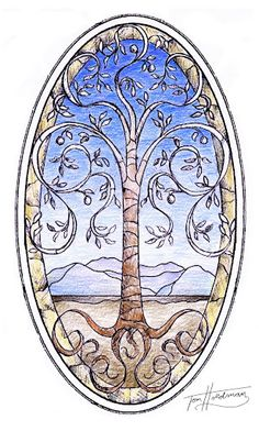 Tree of Life Sketch - Holdman Studios