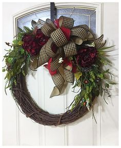 Year Round Wreath For Front Door All Housewares Homedecor Etsymktgtool