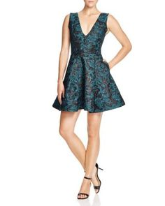 Alice + Olivia Malory Paisley Party Dress | Bloomingdale's