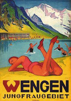 Wengen - jungfraugebiet - 1930 - (Borter Klara Cécile) -
