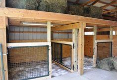 Under Loft Stalls Complete