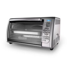 Some ovens have 15 different cooking functions. You can toast, grill, brew the coffee, dehydrate the food. How to choose the best convection toaster ovens? Best Convection Toaster Oven, Countertop Convection Oven, Toaster Ovens, Microwave Oven, Tools And Equipment, Kitchen Equipment, Black And Decker Toaster, Best Oven, Stainless Steel Oven