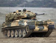 Alvis FV107 Scimitar Light Armoured Reconnaissance Vehicle - British Army