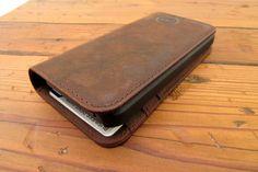 Dock Artisan Leather Wallet Combo Case
