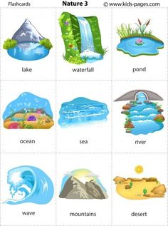 Kids Pages - Nature 3 Learning English For Kids, English Lessons For Kids, Kids English, English Language Learning, English Study, Teaching English, French Lessons, German Language, English Class
