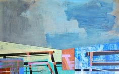 Paintings and works on paper by American Artist Jim Harris.