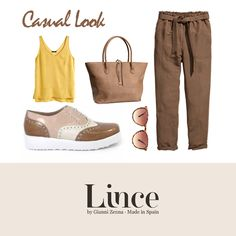 LOOK - Summer 2015 - Lince  Casual Look  #moda #tendencias #lbd #shoes #náuticos #calzado #MadeInSpain #beauty #lince #linceshoes #lovelifelince