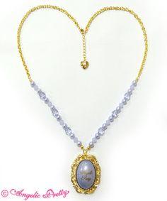 Cameo Window Necklace ♥ Lavender ♥ Angelic Pretty