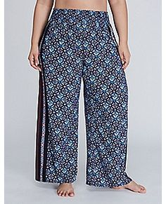 Woven Cover-Up Beach Pant