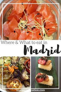 Where and what to eat in the city of #Madrid. From Spanish classics and sweets to international restaurants and cafés. This guide has something for everyone!